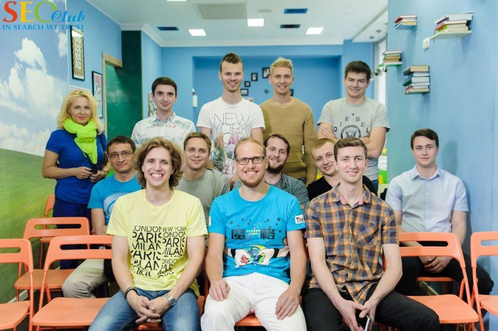 Резиденты SEO-Club с Сергеем Кокшаровым
