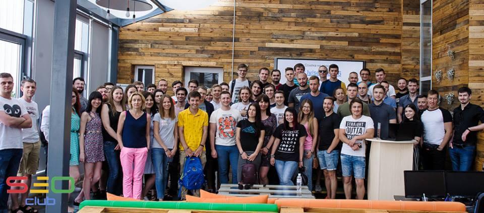 Участники встречи SEO Club Ukraine №16