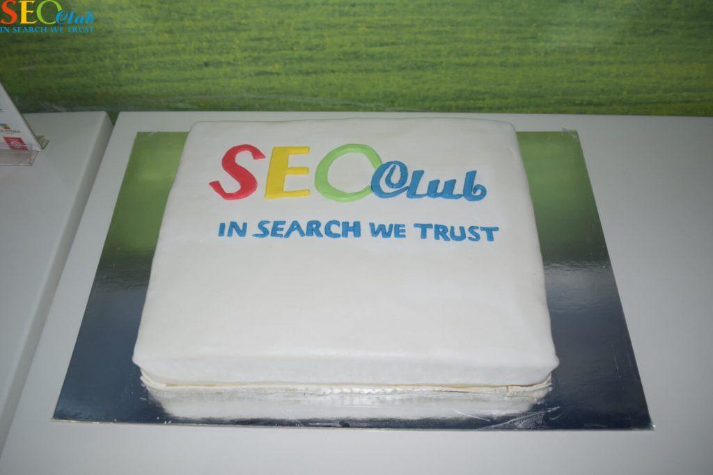 День рождения SEO-Club - торт